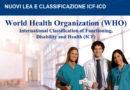 I SISTEMI DI CLASSIFICAZIONE IN AMBITO SANITARIO E SOCIOSANITARIO: ICD E ICF